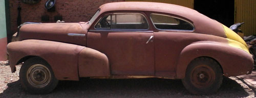 Auto Chevrolet Fleetline