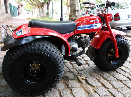 Motorcycle Honda ATC110