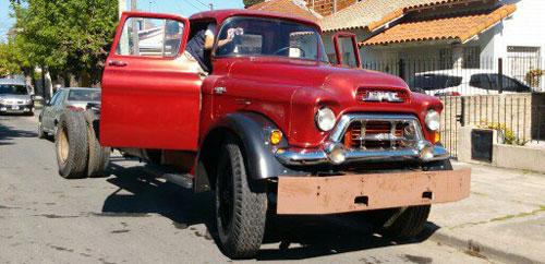 Car GMC 1956