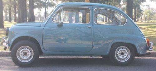Car Fiat 600R 1971