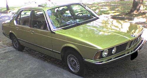 Car BMW 728 (E23)
