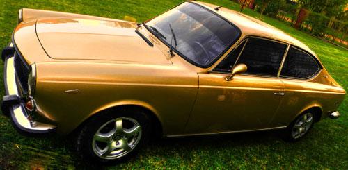 Car Fiat 125 Sport