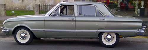 Car Falcon STD 1970