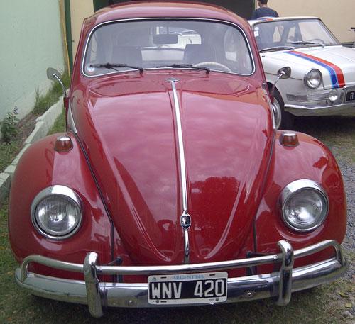 Car Volkswagen Escarabajo 1964