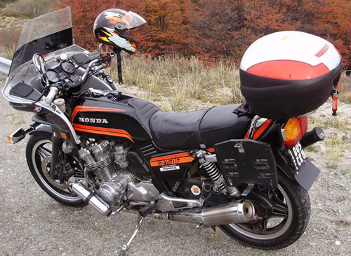 Moto Honda 1981