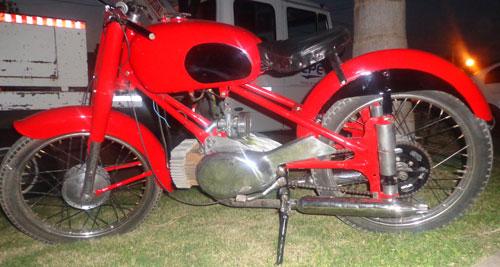 Motorcycle Rumi 1953