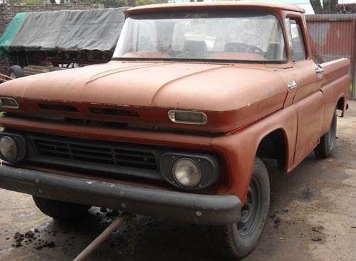 Car Chevrolet Apache Americana 1962