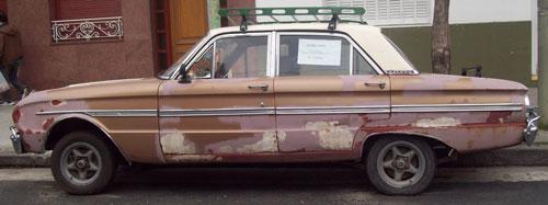 Car Ford Falcon 1967