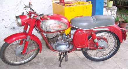 Motorcycle DKW 1962