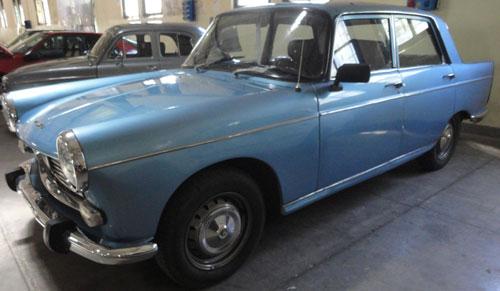Car Peugeot 404D 1976