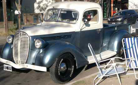 Car Ford 1938 Pick Up