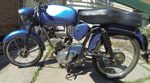 Motorcycle Flaminia 1968