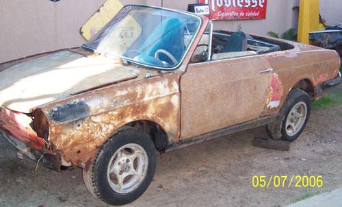 Auto Fiat Spider 1967