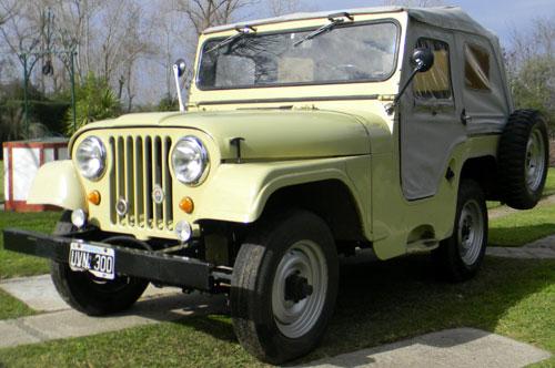 Car IKA Jeep 4x4