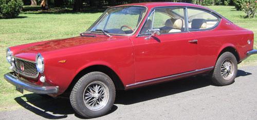 Car Fiat 125 S