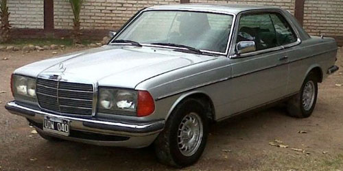 Car Mercedes Benz 230
