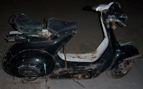 Moto Vespa 1958