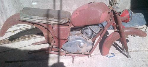Motorcycle Guzzi 175