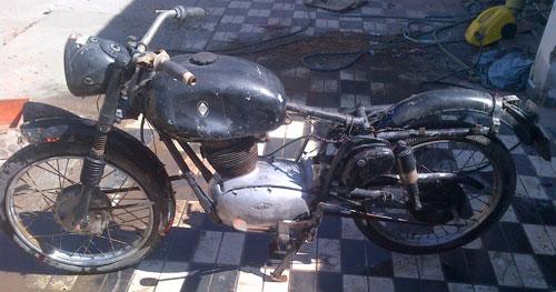 Motorcycle Gilera 150