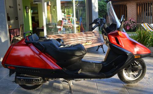 Moto Honda Helix 250