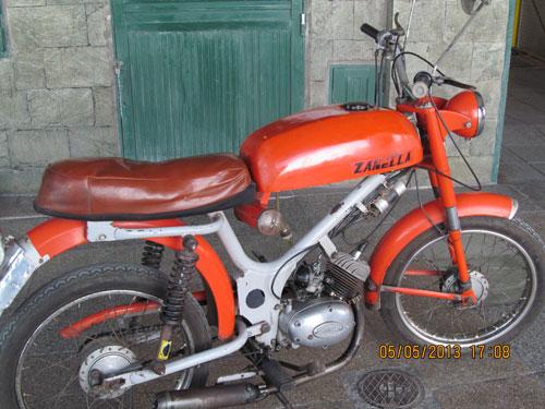 Motorcycle Zanella Bambina 1978