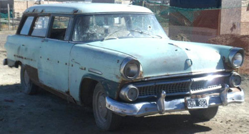 Car Ford Courier 1955