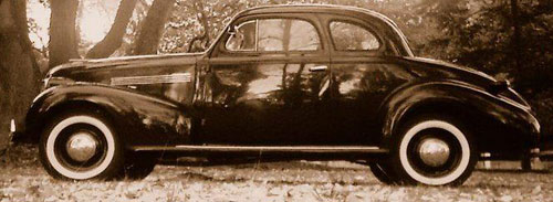 Auto Chevrolet Coupé Master De Luxe
