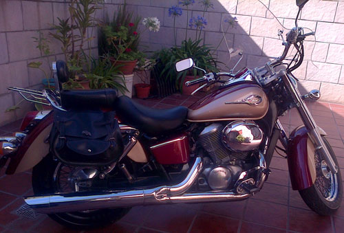 Auto Honda Shadow 1999