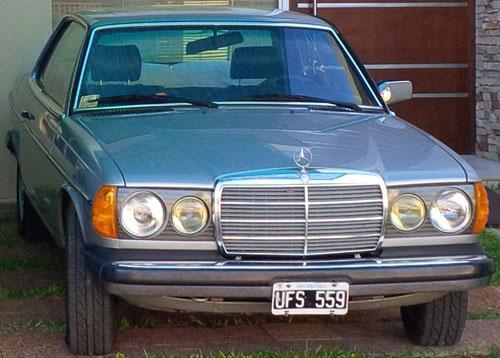 Car Mercedes Benz 280CE