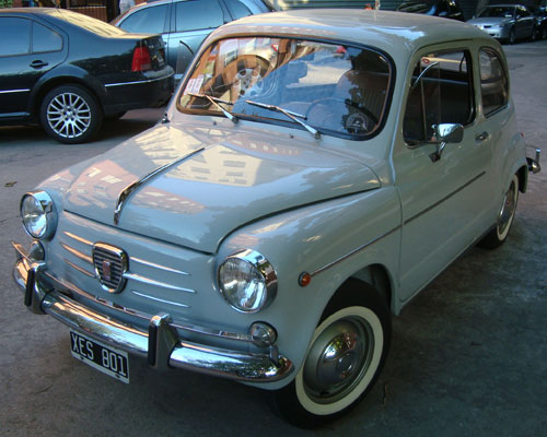 Auto Fiat 600 D