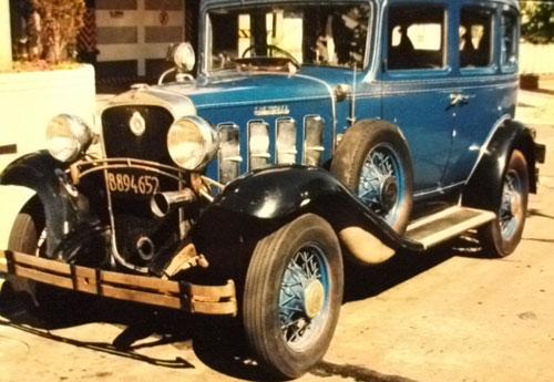 Auto Chevrolet Sedán 1932