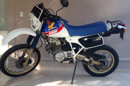 Motorcycle Honda XL600 R