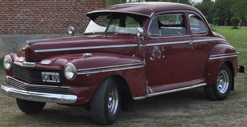 Auto Mercury Coupé 1942