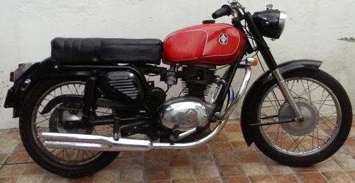 Motorcycle Gilera Gubileo