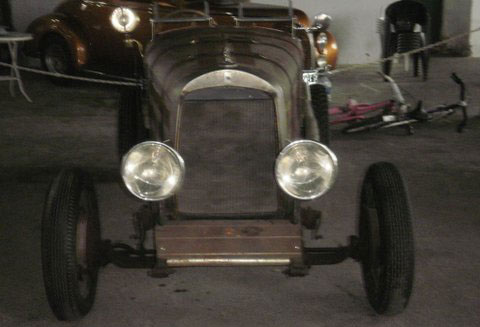 Car Whippet Baquet 1929