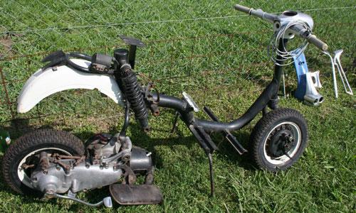 Motorcycle Siambretta 175 TV