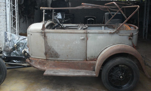 Car Ford Type 180 A