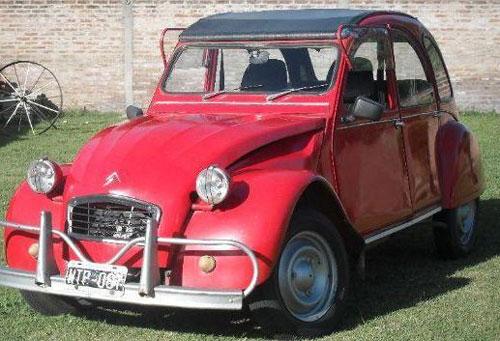 Auto Citroen 3CV