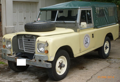 Car Land Rover Santana 1980