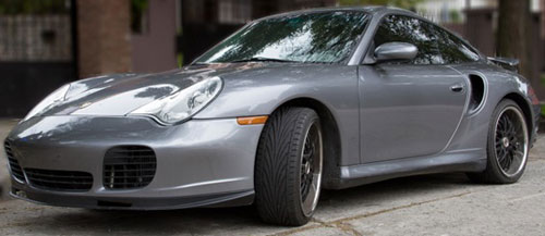 Car Porsche 911 Twin Turbo X50