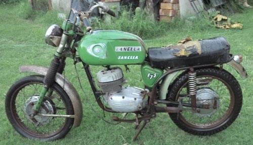 Moto Zanella La Ponderosa