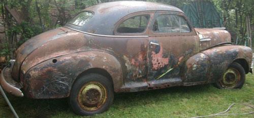 Auto Chevrolet Coupé 1947