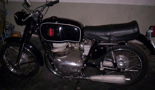Motorcycle Gilera 300 1959