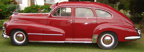 Car Oldsmobile Hydromatic 1947