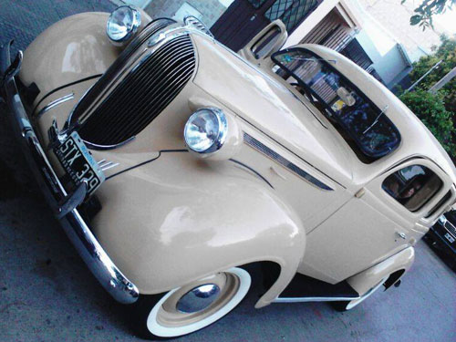 Car Plymouth 1938