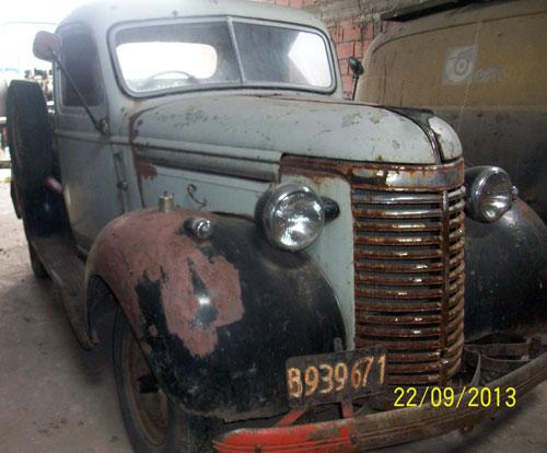 Auto Chevrolet 1940 Pick Up
