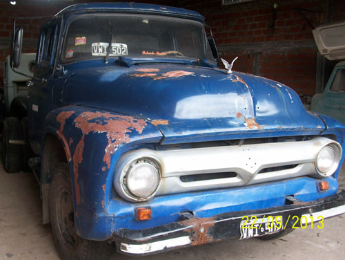Car Ford 350 1956