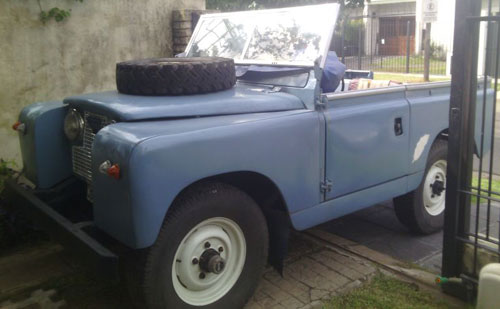 Car Land Rover Serie 2