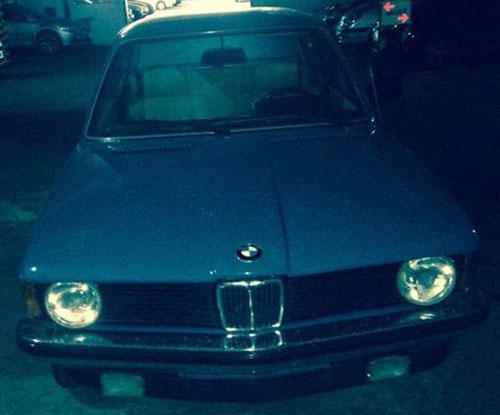 Auto BMW 1982