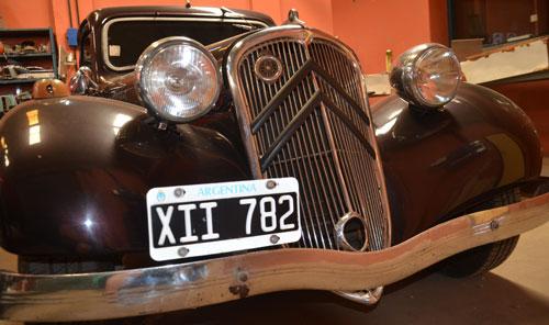 Auto Citroen 11 Ligero 1947